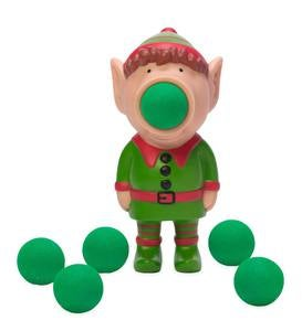 Holiday Popper Toy with Six Foam Balls