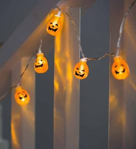 Light-Up Halloween Garland