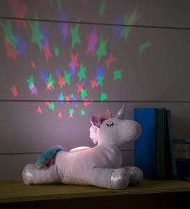 Plush Unicorn LED Sound and Light Projector