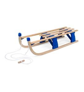 Foldable Wooden Snow Sled