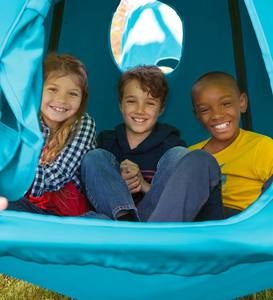 Go! HangOut HugglePod Hanging Tent with Mighty Crescent Chair Stand Set