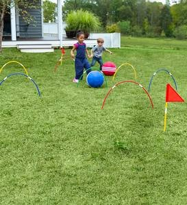 Giant Kick Croquet Game