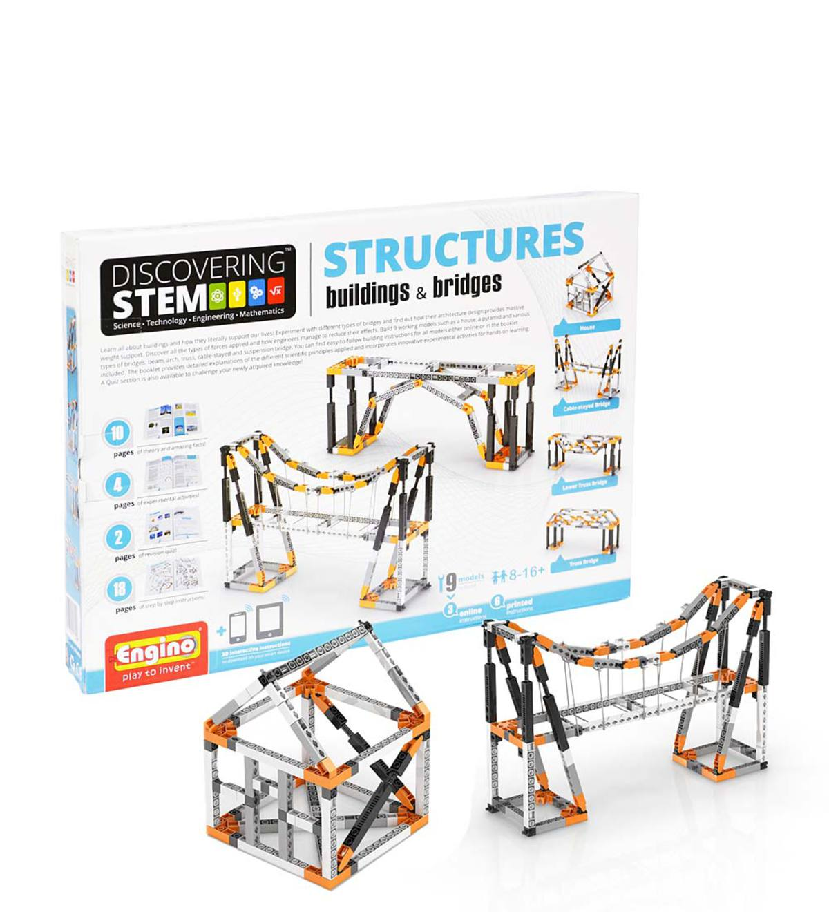 Structures, Buildings, and Bridges Discovery Kit | 10 years