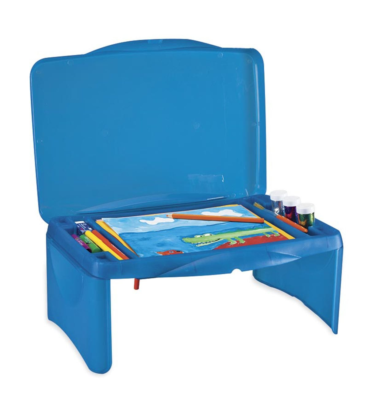 Folding Lap Desk - Blue
