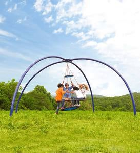 Vortex Spinning Ring Swing™ and Sky Dome™ Arched Stand