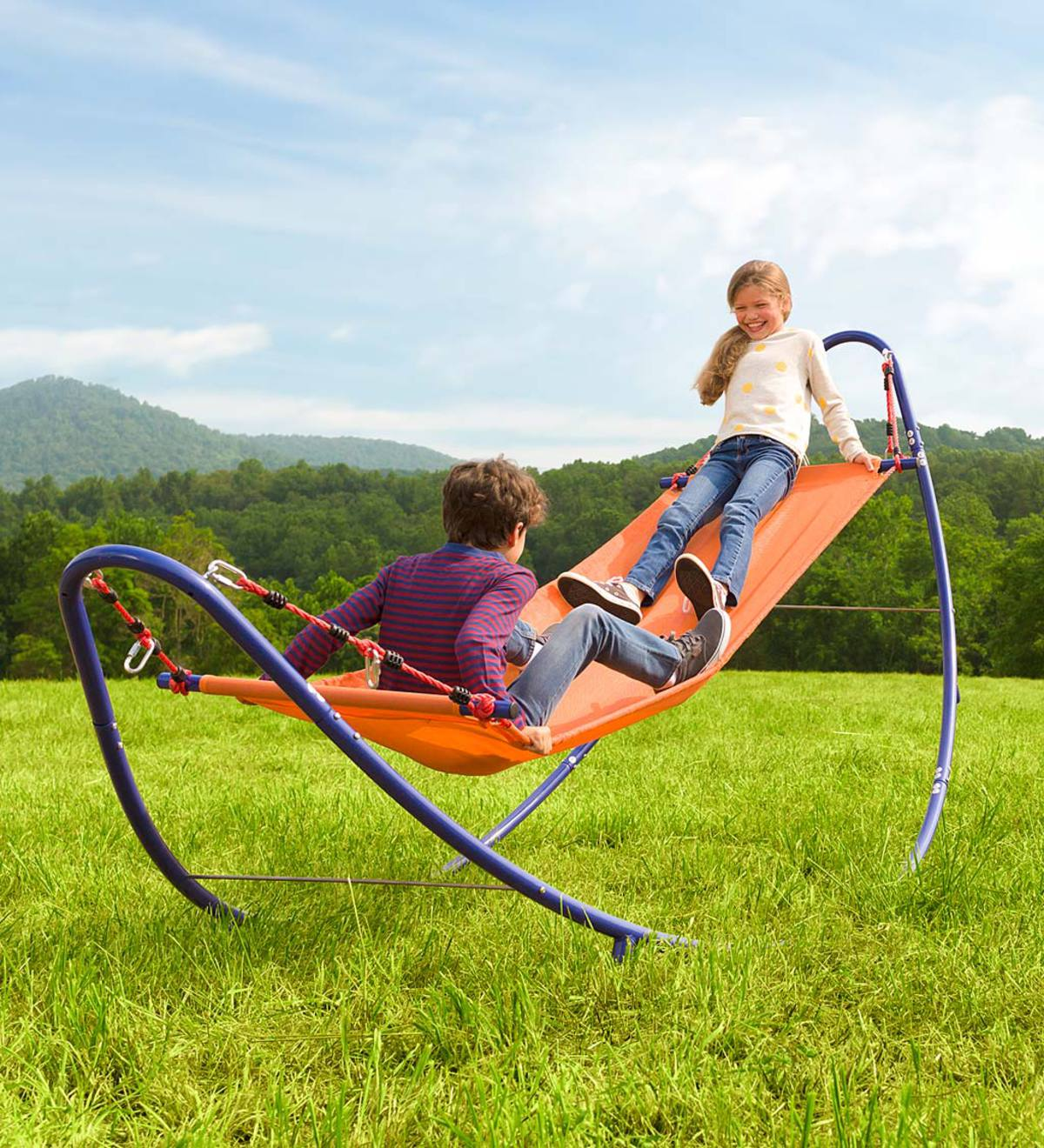 Rockin' 2-in-1 Adjustable Hammock™