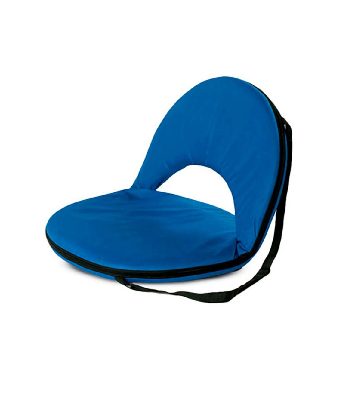 5-Position Folding Chair - Bright Blue