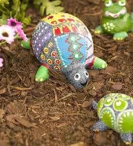 Color Pops Paint-Your-Own Rock Pets: Turtles and Frogs