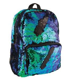 Mermaid/Black Sequin Backpack