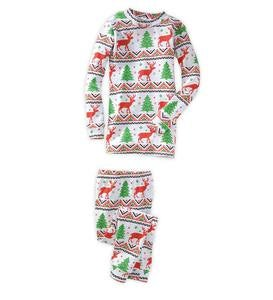 Sweater Print Pajamas - Multi - 7