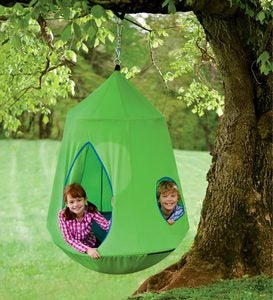 Nylon Canvas HugglePod™ HangOut™ with LED Lights