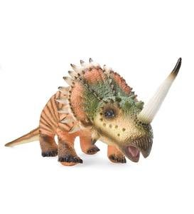 Giant Posable Styracosaurus Natural Latex Dinosaur