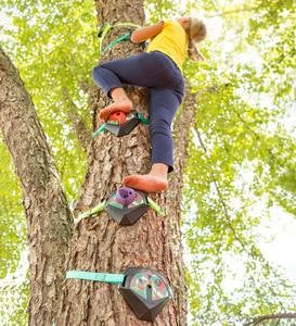 Tree Climbers, Set of Six (Four Climbing Holds and Two Foot Holds)