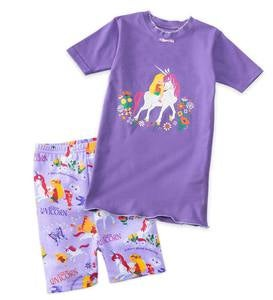 Short Uni the Unicorn Pajamas