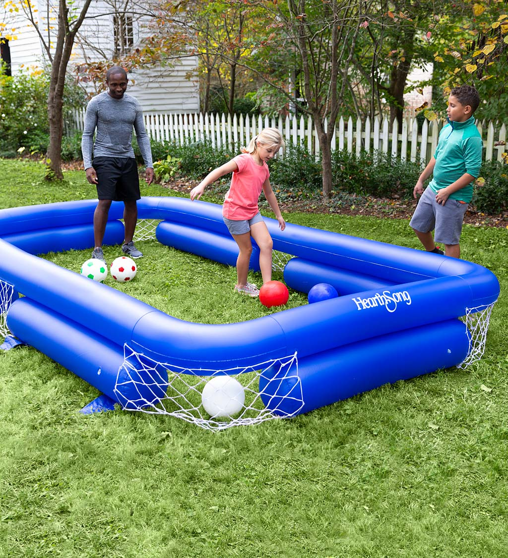Inflatable Soccer Pool Game