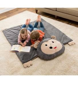 Jumbo Hedgehog Reversible Snuggle Mat