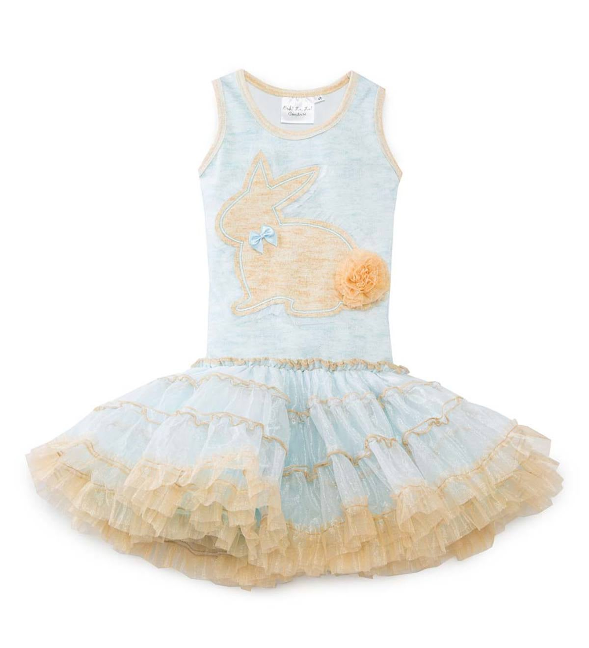 Bunny Tutu Dress - Blue - /7