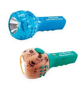 Flashlight with Nature Sounds and Flashing Lights