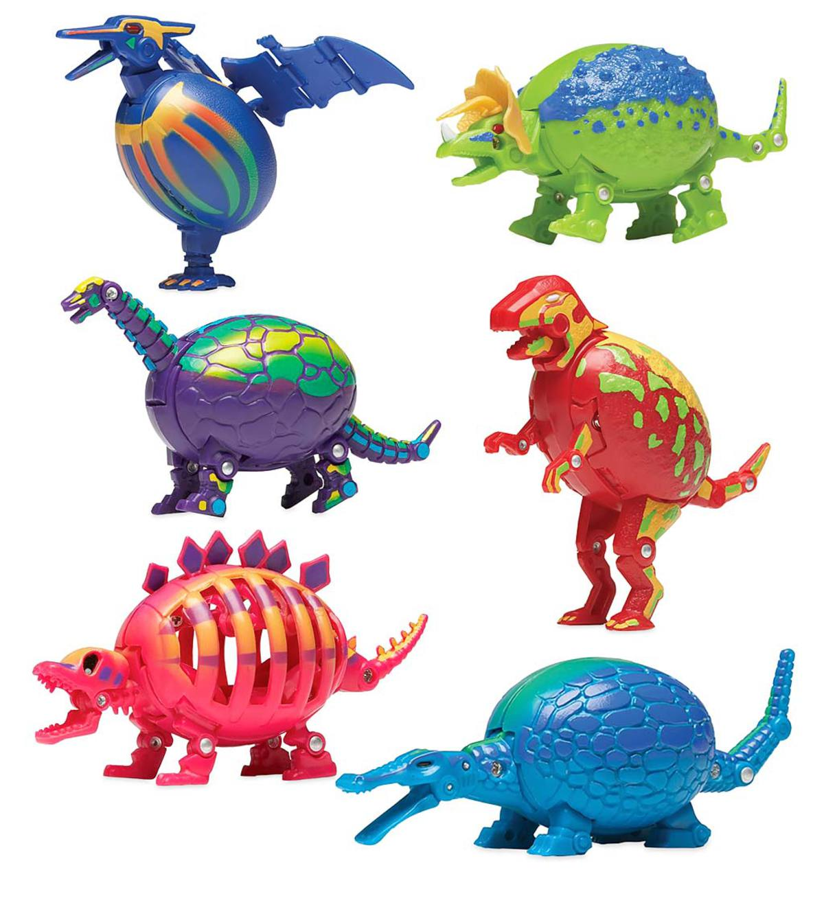 Transforming Dino Egg Puzzles (set of 6)