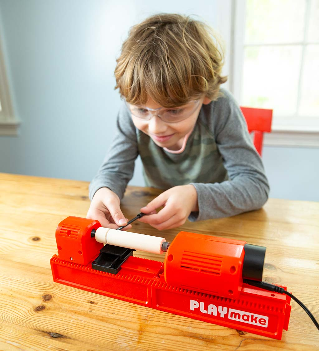PLAYmake 4-in-1 Woodshop Carpentry Cool Tool