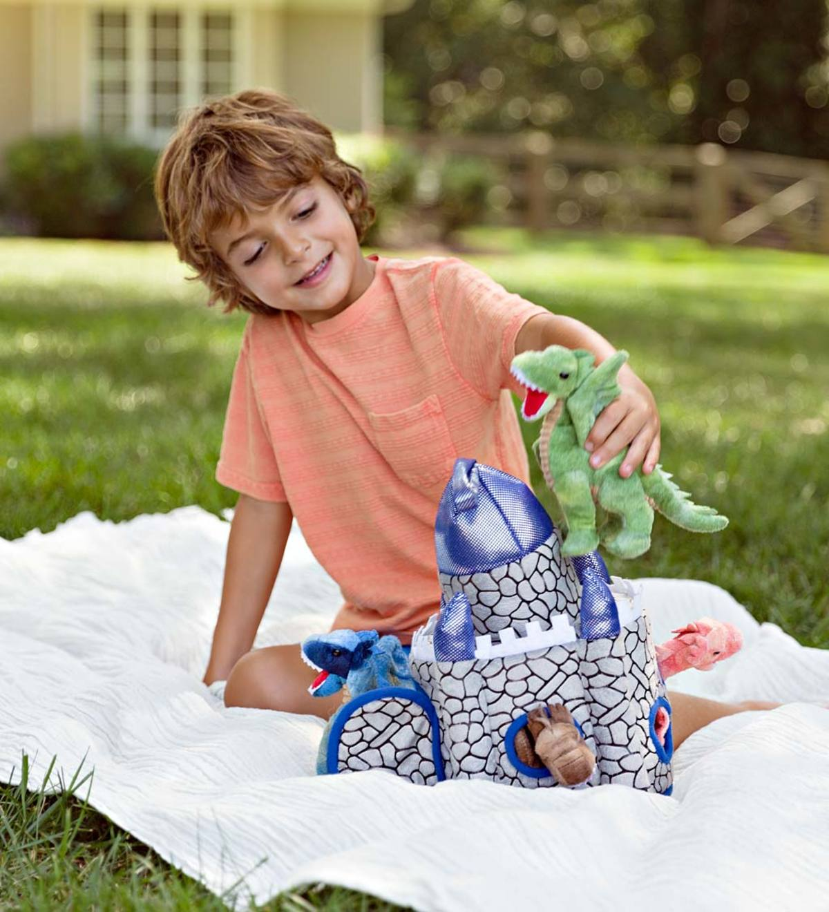 Plush Dragon Portable Play Set