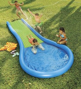 HearthSong Inflatable Water Slide