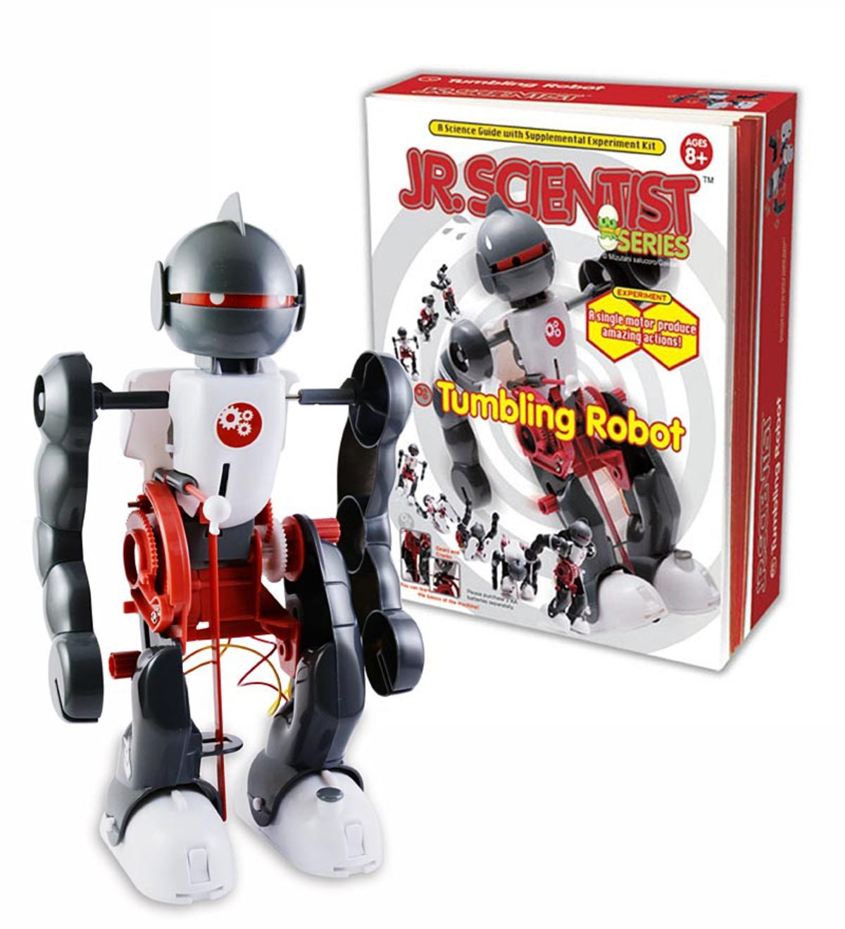 Jr. Scientist™ Tumbling Robot Kit