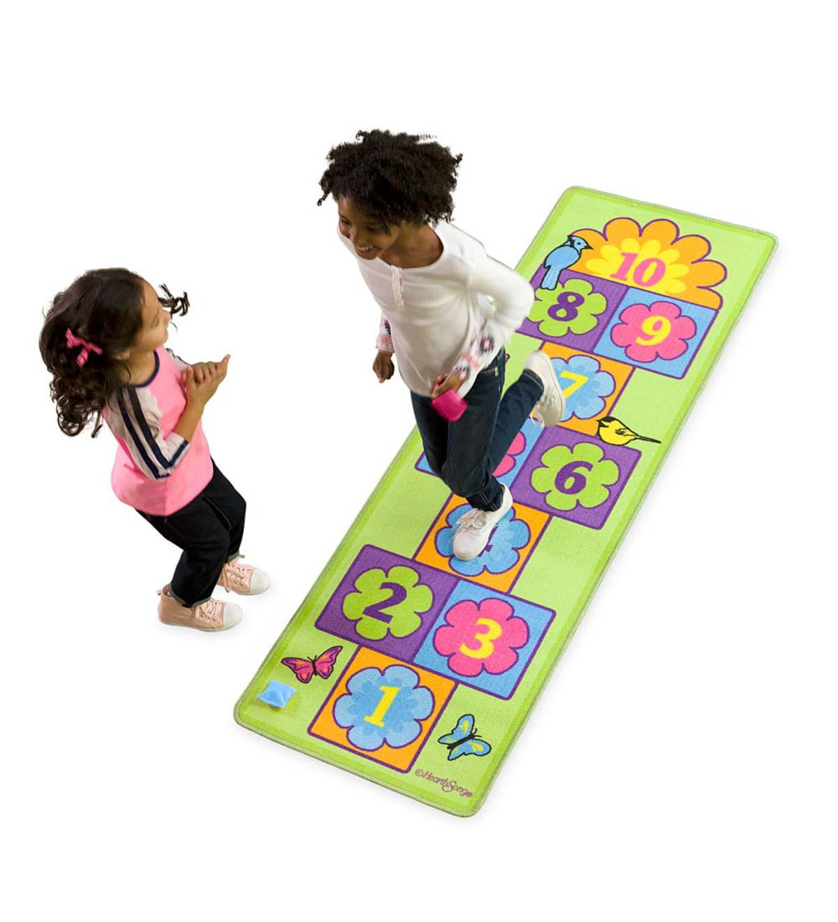 Garden Hopscotch Play Carpet