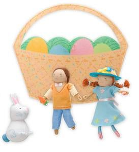 Easter-Pals Playful Pack-Up Penny Dolls