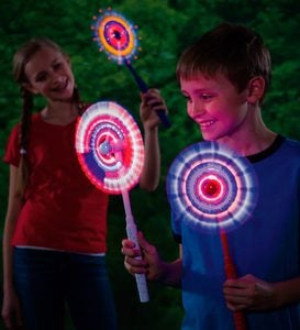 Flashing Windmills Light-Up Toy