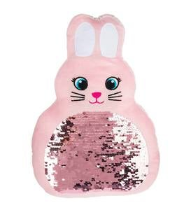 Bunny Sequin Pillow