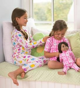 Cotton Ruffle Pajamas