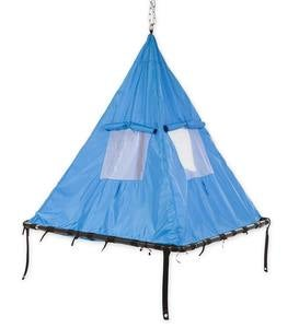 Hanging Sky Tent Swing and Sky Dome Arched Stand Set
