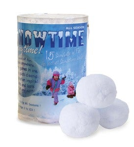 Set of 15 Snowtime Anytime™ Snowballs