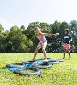 Tire Run Inflatable Sprinkler