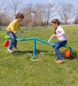 Spiro Spin Bouncing Seesaw