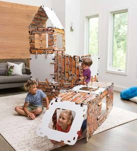 32-Piece Brick Build-A-Fort Kit