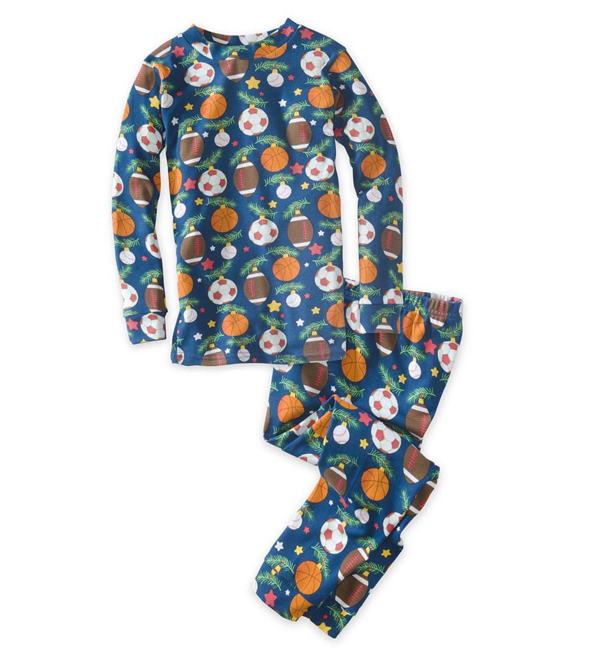 Holiday Sports Pajamas - Navy - 6