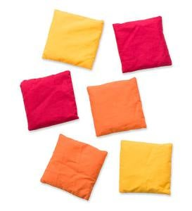 Set of Six Beanbags