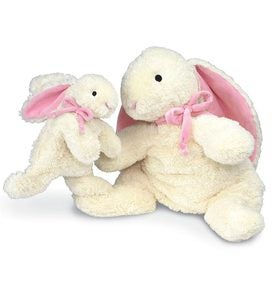 Large Loppy the Bunny - Pink