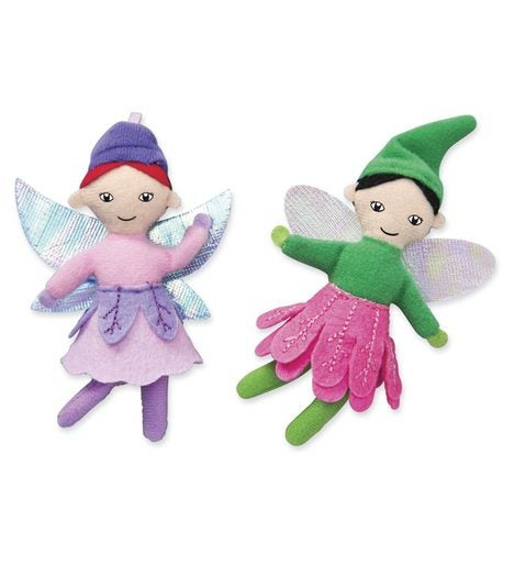 Posable Woodland Fairy Dolls (set of 2)