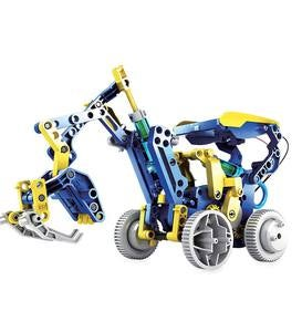 12-in-1 Solar Hydraulic Robot Kit
