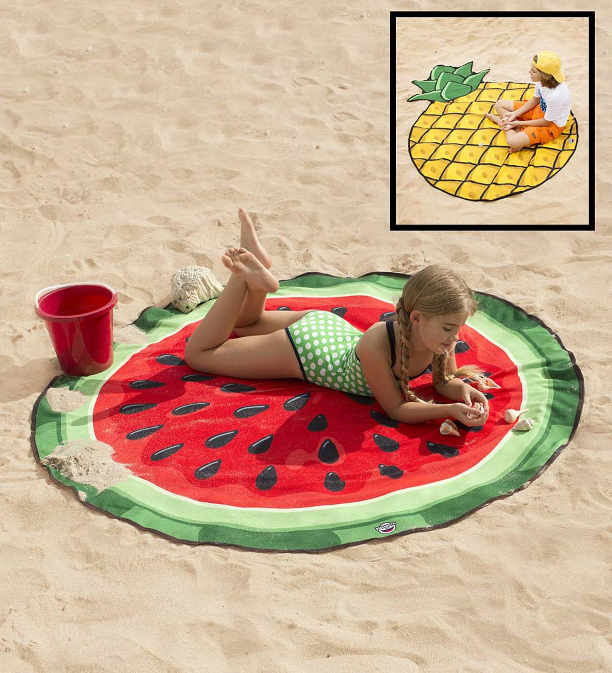 Shaped Beach Blanket