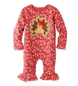 Turkey Ruffles Onesie
