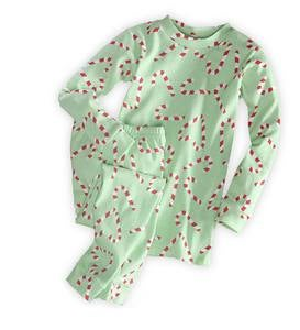 Heart Candy Cane Pajamas - 3
