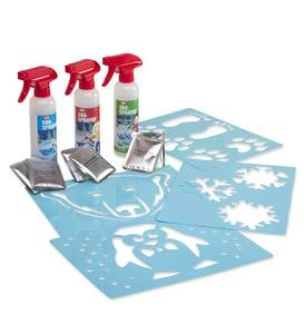 Sno-Art Spray 'n' Stencil Set