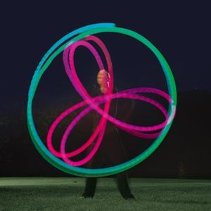 LED-Lit Poi Balls