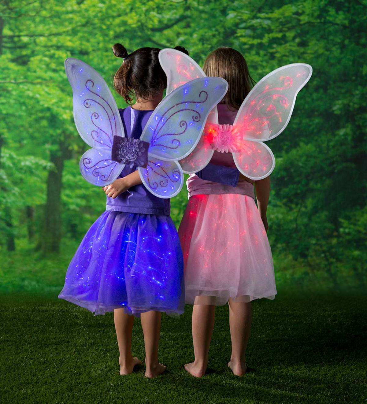 LED Light-Up Tulle Wings