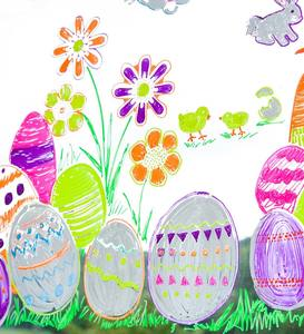 ChalkScapes® Easter Stencils and Window Markers