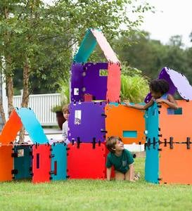 32-Piece Mighty Fantasy Forts™ Color Block Set Special